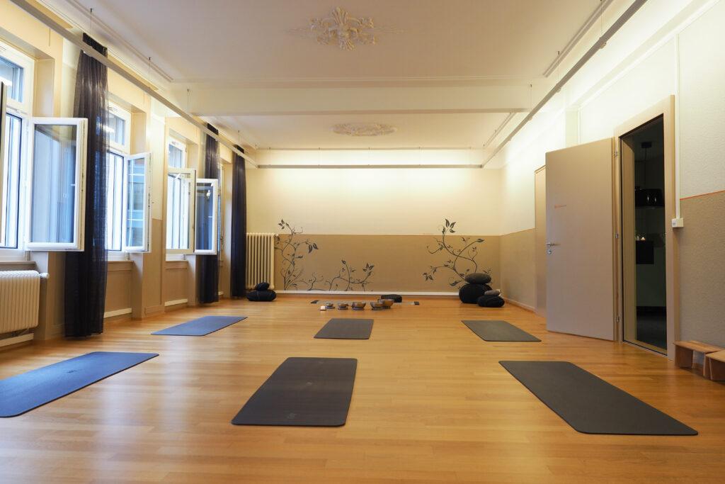 Yoga St. Gallen: sanft. achtsam. still.